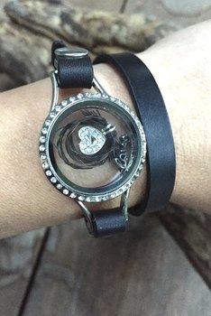 Memory locket armband.