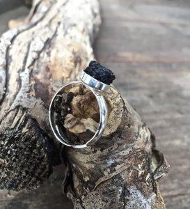 Paardenhaar ring zilver. Prijs € 29,95